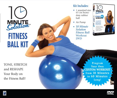 10 Minute Solution: Fitness Ball Kit DVD Image