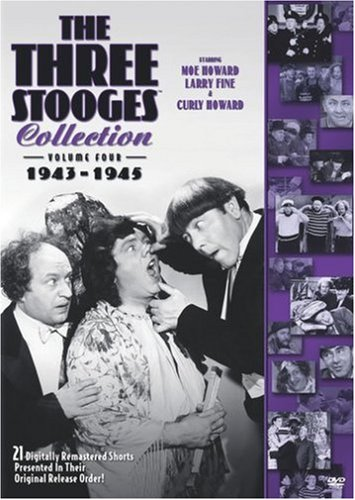 Three Stooges Collection (Columbia/Tri-Star), Vol. 4: 1943-1945 DVD Image