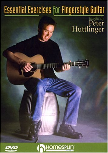 Essential Exercises For Fingerstyle Guitar: Taught By Peter Huttlinger DVD Image