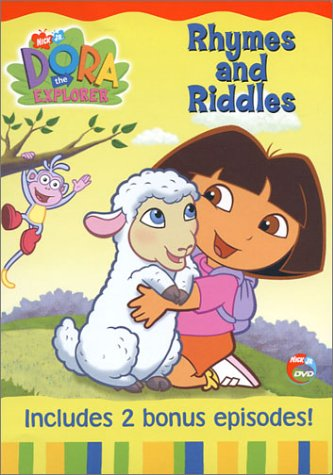 Dora The Explorer: Rhy Mes And Riddles DVD Image