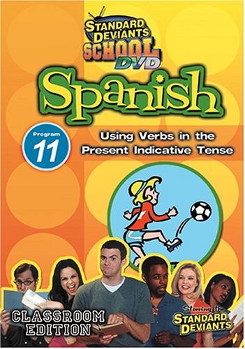 Standard Deviants: Spanish 11: Using Verbs In The Present Indicative Tense DVD Image