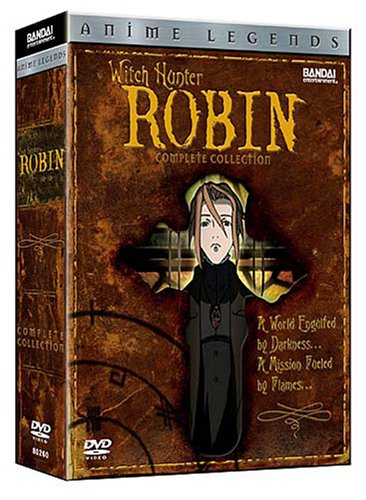 Witch Hunter Robin #1 - 6: Complete Collection (Anime Legends Edition) DVD Image