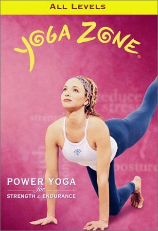 Power Yoga For Strength And Endurance: Yoga Zone DVD Image