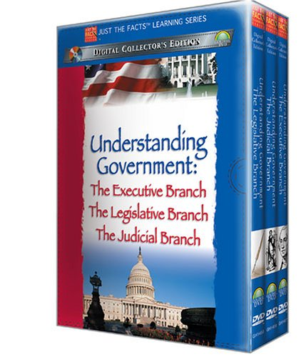 Just The Facts: Understanding Government (3 Volume Gift Set): Executive Branch / Legislative Branch / Judicial Branch DVD Image