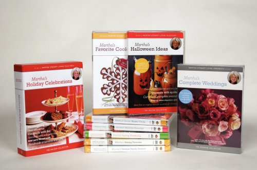 Martha Stewart Collection: Favorite Family Dinners / Classic Thanksgiving / Homemade Holidays / Baking Favorites / ... DVD Image