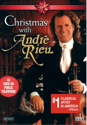 Andre Rieu: Christmas With Andre Rieu DVD Image