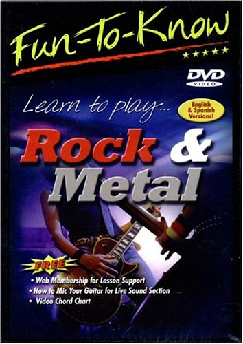 Fun To Know: Learn To Play Rock & Metal DVD Image