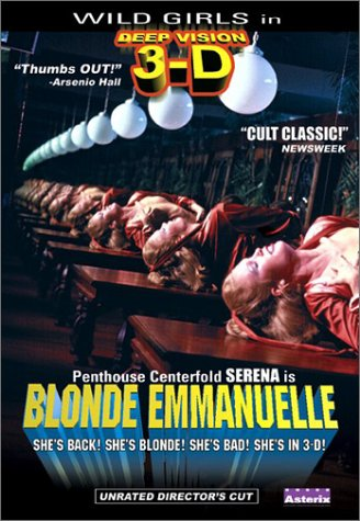 Blonde Emmanuelle: Deepvision 3-D (Special Edition) DVD Image