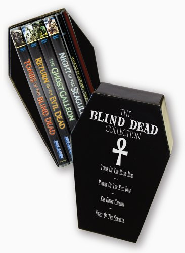 Blind Dead Collection (Limited Edition): Tombs Of The Blind Dead / Return Of The Evil Dead / Ghost Galleon / ... DVD Image