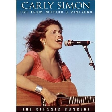 Carly Simon: Live From Martha's Vineyard: The Definitive Concert DVD Image