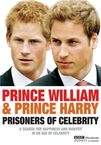 Prince William & Prince Harry: Prisoners Of Celebrity DVD Image
