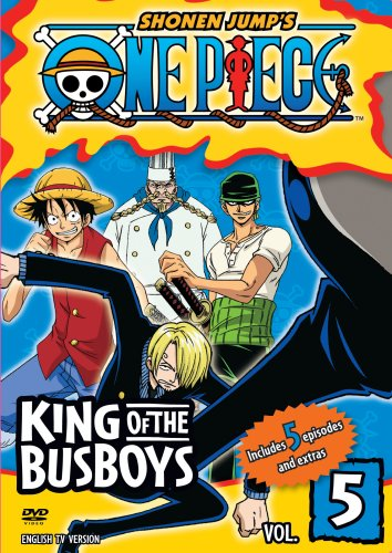 One Piece #05: King Of The Busboys DVD Image