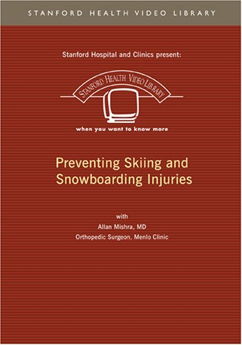 Preventing Skiing And Snowboarding Injuries DVD Image