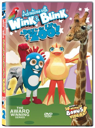 Adventures With Wink & Blink: A Day In The Life Of A Zoo! DVD Image