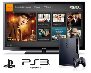 Amazon Instant Video on PS3