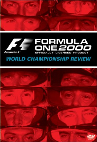 Formula One 2000: World Championship Review DVD Image