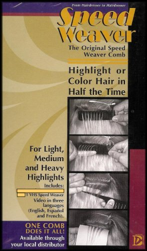 Speed Weaver Comb Instructional Video (Highlight or Color Hair in Half the Time) [VHS VIDEO] DVD Image