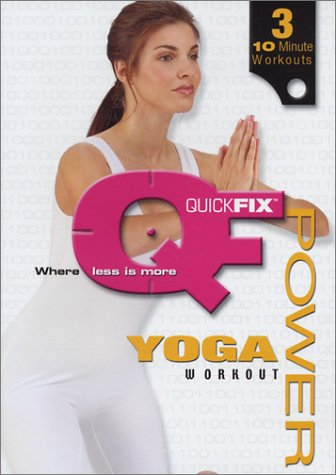 Quick Fix - Power Yoga Workout DVD Image