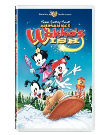 Animaniacs: Wakko's Wish [VHS] DVD Image