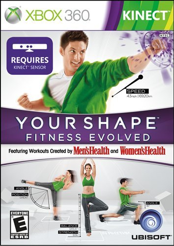 Your Shape Fitness Evolved - Xbox 360 DVD Image
