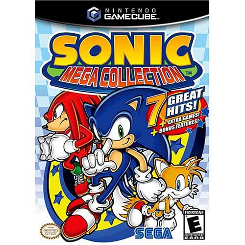 Sonic Mega Collection DVD Image