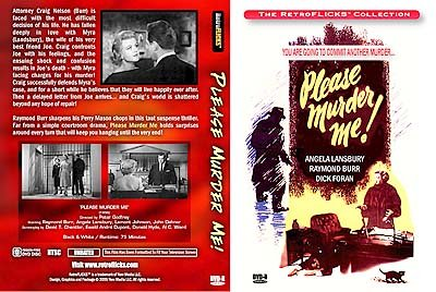 Please Murder Me! DVD Image