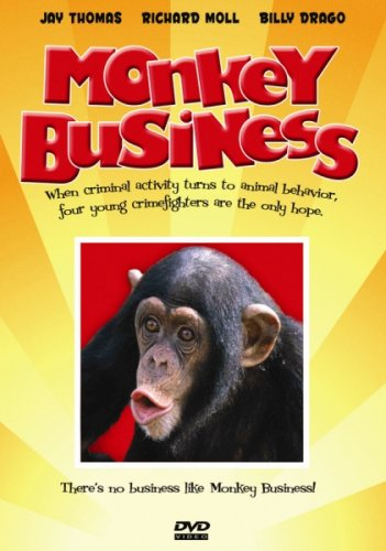 Monkey Business with Shia LaBeouf DVD Image