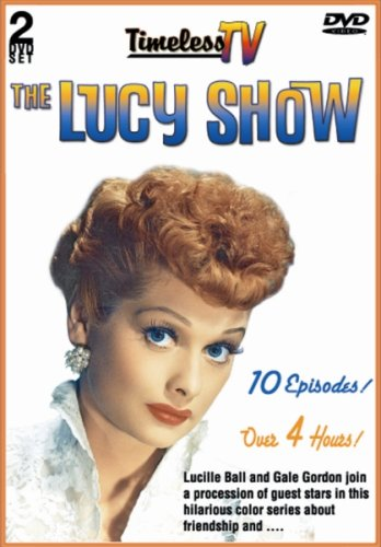 Lucy Show (Entertainment Distributing): Lucy And George Burns / Lucy Meets The Berles / Lucy Gets A Roommate / ... DVD Image