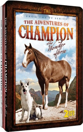 The Adventures of Champion, The Wonder Horse - Embossed Slim-Tin Packaging DVD Image