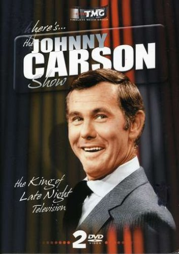 Johnny Carson: Classic TV Comedy (2-Disc) DVD Image