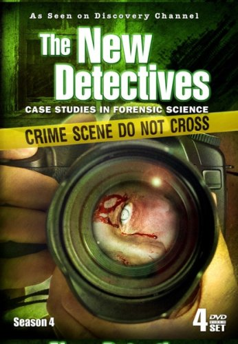 THE NEW DETECTIVES - Season 4 - AS SEEN ON DISCOVERY CHANNEL! DVD Image