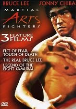 Martial Arts Fighters DVD Image