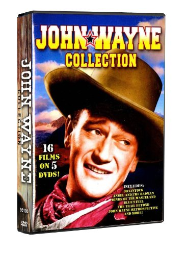John Wayne Collection (Diamond Entertainment/ 5-Disc): The Trail Beyond / Blue Steel / The Star Packer / Texas Terror / ... DVD Image