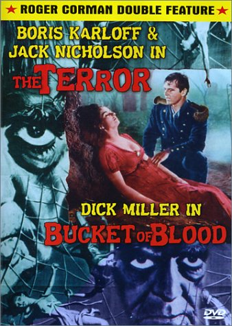 The Terror / Bucket of Blood DVD Image