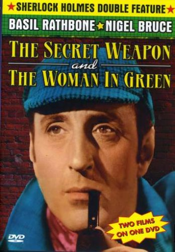 The Sherlock Holmes and the Secret Weapon/The Woman in Green DVD Image