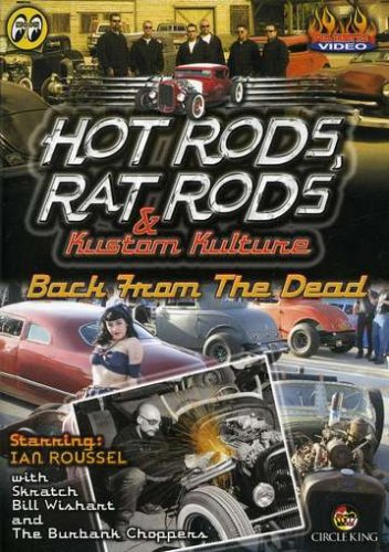Hot Rods, Rat Rods: Back from Dead DVD Image