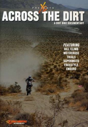 Across The Dirt: A Dirt Bike Documentary DVD Image