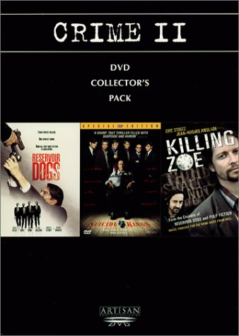Crime II Collector's Pack (Reservoir Dogs/Suicide Kings/Killing Zoe) DVD Image