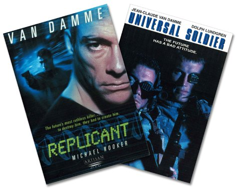 Replicant/Universal Soldier DVD Image