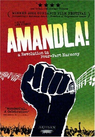 Amandla!: A Revolution in Four-Part Harmony DVD Image