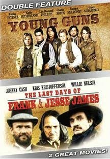 Young Guns (Special Edition) / The Last Days Of Frank & Jesse James DVD Image