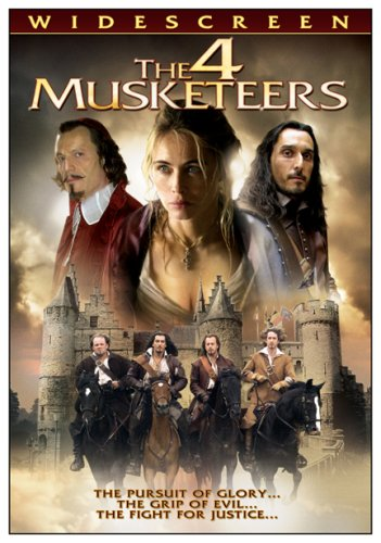 The 4 Musketeers DVD Image