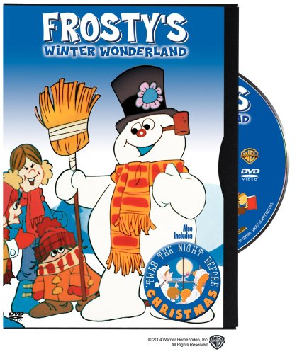 Frosty's Winter Wonderland / Twas The Night Before Christmas DVD Image