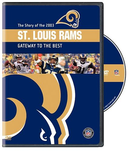 NFL Team Highlights 2003-04: St. Louis Rams DVD Image