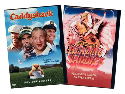 Blazing Saddles (Warner Brothers/ Special Edition) / Caddyshack (20th Anniversary Edition) (Side-By-Side) DVD Image