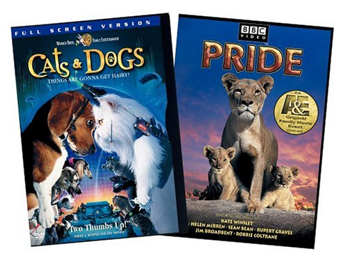 Pride / Cats & Dogs (Full Screen Edition 2-Pack) DVD Image
