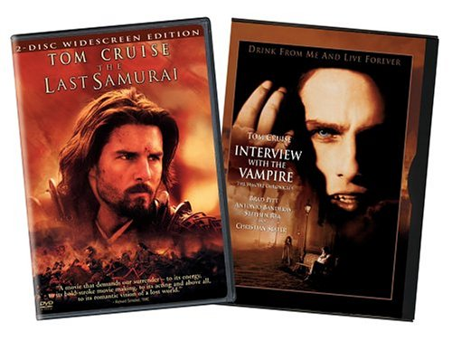 The Last Samurai/Interview With the Vampire - The Vampire Chronicles DVD Image