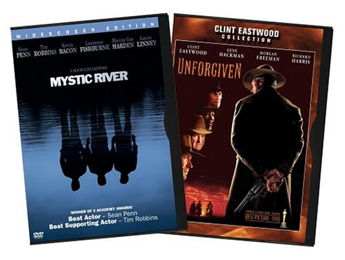 Mystic River (Movie-Only Edition/ Widescreen) / Unforgiven (1992) (Back-To-Back) DVD Image