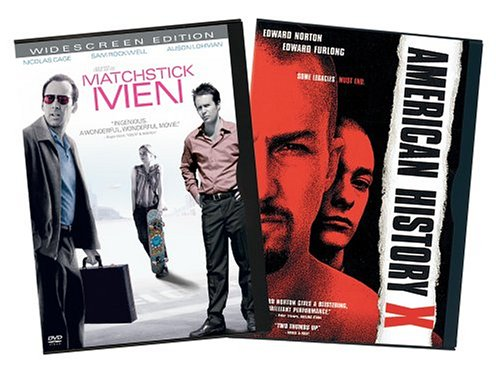Matchstick Men (Widescreen) / American History X (Platinum Edition) (Back-To-Back) DVD Image
