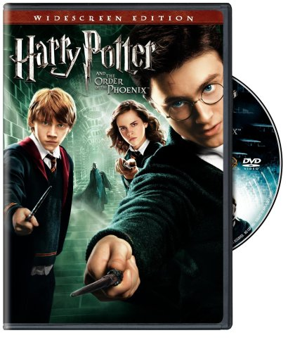 Harry Potter And The Order Of The Phoenix (Widescreen) DVD Image